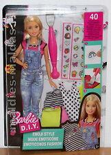 Barbie D.I.Y. Emoji Style DYN93 NEU/OVP Puppe