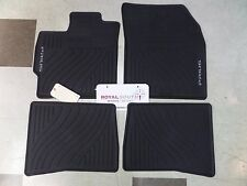 Toyota Prius 2010 - 2011 Factory All Weather Rubber Floor Mats Genuine OEM OE