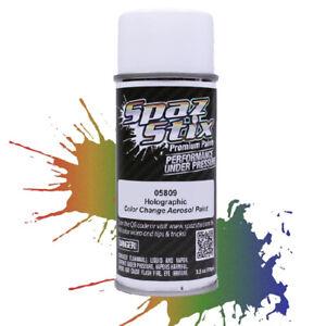 Spaz Stix Color Change Aerosol Spray Paint Holographic 3.5oz Can