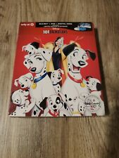 Disney 101 DALMATIANS Blu-Ray + DVD +Digital+ TARGET Storybook - Factory Sealed