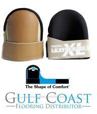 Professional Knee Pads With Heavy Duty Foam Padding Troxell Usa Leatherhead Lg