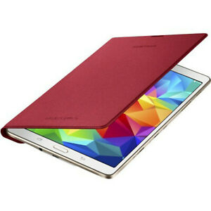 """NEW Samsung Simple Cover for Samsung Galaxy Tab S 8.4"""" Tablet Glam Red"""