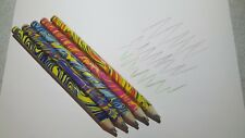 New listing New 5 Piece/Lot Rainbow Pencils Multi-Color Drawing Novelty Sketches Doodles