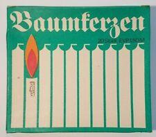 Wittol Baumkerzen 20 Stück / Packung, Nostalgie / Ostalgie, DDR