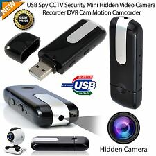 MINI USB SPY CAMERA NASCOSTA HD Video Recorder rilevamento del movimento DVR Cam Camcorder