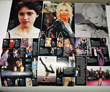 MADONNA 20 CLIPPINGS IN SPANISH - ARGENTINA VERY RARE!