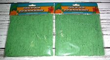 2 New Green Fishing Net Decor 6 Feet x 8 Feet