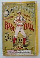 1900 Spalding Baseball Guide ORIGINAL Honus Wagner Cy Young Nap Lajoie McGraw !