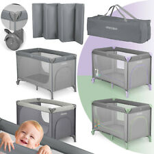 Reisebett Kinderreisebett Laufstall Baby mit Rollen Einstieg Tasche Ricokids