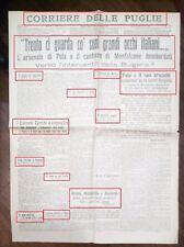 WW1-POLA E MONFALCONE,BORBANDATE DAI DIRIGIBILI-DEL 01-06-1915 N.2085