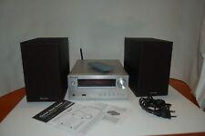 Pioneer X-HM36D Kompaktanlage 2x15W  Silber inkl. zwei Wege Boxen u. FB