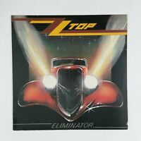 ZZ TOP Eliminator 123774 LP Vinyl VG++ Cover VG+ near ++ Sleeve