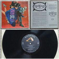 "KISS ME KATE LP Original Television Soundtrack RCA LPM-1984 Vinyl Record 12"""