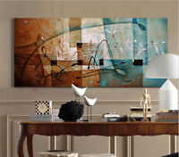 ZWPT54 large abstract  handmade-painted oil painting home decor art on Canvas