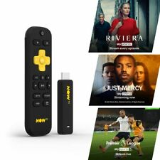 NOW TV Smart Stick with 3 PASSES PRE-INSTALLED