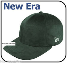 Brand New Era Genuine spazzolato verde regolabile Berretto Piatto Bill Baseball Cappello