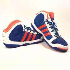 Adidas Mens 14.5 Ill Will New York Knicks NYK Basketball Shoes Blue White Orange