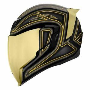 Icon Airflite El Centro Helmet with Clear & RST Dark Gold Fliteshield