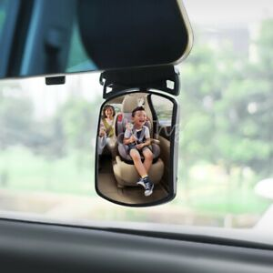 Car Interior Rear Baby Kids Safety Seat Watch Rearview Mirror Accessories