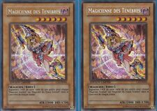 Yu-Gi-Oh! 2x Magicienne des Ténèbres CT2-FR004 1ère Edition Secret Rare NEUF !!