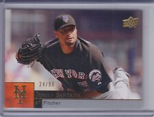 JOHAN SANTANA 2009 Upper Deck Gold #24/99 #761 (D1129)