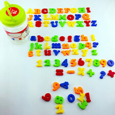 78 Kids Learning Teaching MAGNETIC Toy Letters & Numbers Fridge Magnets Alphabet