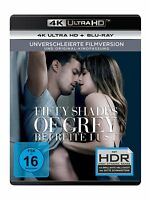 FIFTY SHADES OF GREY-BEFREITE LUST-4K UHD -  2 ULTRA HD BLU-RAY NEW