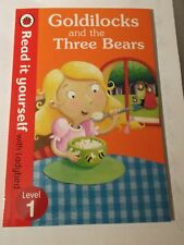 Goldilocks & the Three Bears- Read It Yourself with Ladybird: Level 1 by Penguin