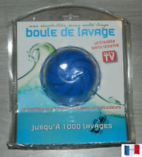 BOULE DE LAVAGE SANS LESSIVE JUSQU'A 1000 LAVAGES  NEUF