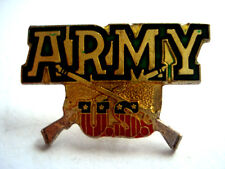 PINS RARE ARMEE MILITAIRE MILITARY ARMY US ETATS UNIS USA