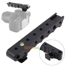 Photo Video Stabilizing Top Handle Rig & Cold Shoe Extender for Canon EOS  Nikon
