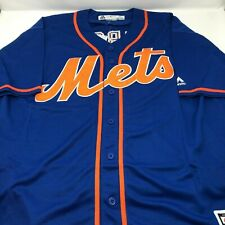 Tim Tebow New York Mets Replica Throwback Stitched Jersey Mens Size XL