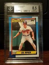 1990 Topps Tiffany Cal Ripken Jr Orioles Baseball Card #570 BGS 8.5 NM-MT+ POP 3