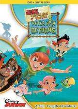 Jake and the Neverland Pirates: Peter Pan Returns (DVD, 2015)