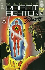 Jim Shooter signed Magnus Robot Fighter #6 in FN/VF condition