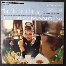 Breakfast at Tiffany's Motion Picture Henry Mancini Moon River LP LPM 2362 VG+
