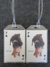 Custom Puppy Dog Luggage Tags - 50 Breeds Available - Choose Yours! - One Tag