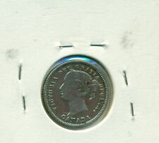 Canada 10 cents 1880H Fine