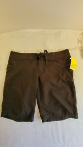 Rip Curl Womens Black Love And Surf 11 Boardshorts Sz 5 with pockets W33 I10.5