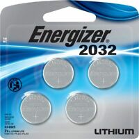 Energizer Batteries CR2032 240 mAh 3V Lithium Coin Cell  - 4-Pack
