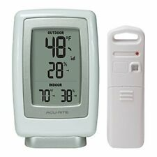 Digital Wireless Thermometer and Humidity Meter with Easy-to-Read Large Display
