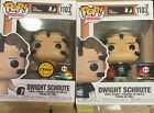 Dwight Schrute Basketball Funko Pop 1103 CHASE BUNDLE Chalice Exclusive SET
