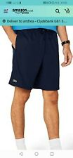 Mens Lacoste Shorts Black Shell Size 6 Xl
