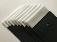 """Pre Folded Pocket Square (ONE) The """"BANDED"""" by cbelegance"""