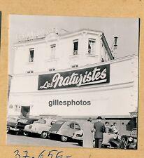 PARIS c. 1950-60 - Cabaret LES NATURISTES Music-Hall - 17