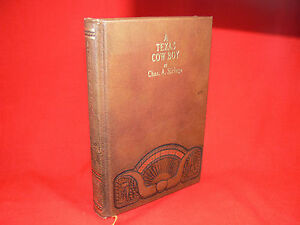 A TEXAS COWBOY by Chas A Siringo CLASSICS OF THE OLD WEST SERIES 1980 Reprint GC