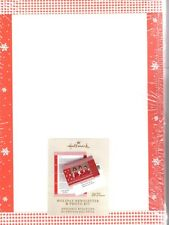 Hallmark Holiday Newsletter and Photo Kit of 20 Sheets Snowflakes  - New