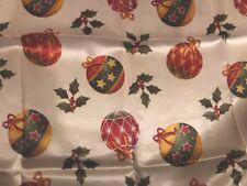 Natale TOVAGLIA RETTANGOLARE 150x180cm poliestere tessuto Nuovo di Zecca