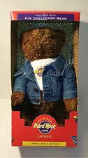 HERRINGTON TEDDY BEARS 1998 HARD ROCK HOTEL PIN COLLECTOR BEAR - RETAIL $50