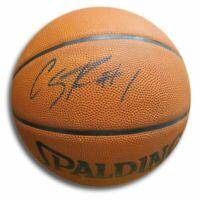 Caron Butler Signed Autographed Spalding Basketball Miami Heat Black w/COA